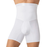 Men's High Waist Stomach Compression Briefs