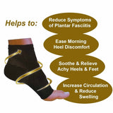 Plantar Fasciitis Compression Socks - Foot, Heel & Arch Pain Relief Support Sleeves - StabilityPro™