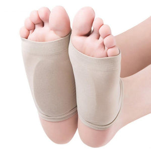 Plantar Fasciitis Gel Infused Arch Support Cushioned Foot Sleeves - StabilityPro™