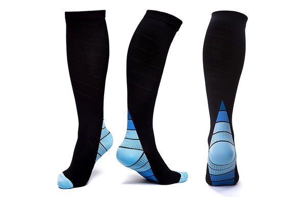 d195677739 Graduated Compression Socks Knee High Athletic Fit Stockings 20-30mmHg -  StabilityPro™