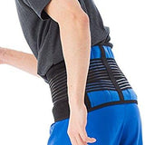 Double-Pull Neoprene Lumbar Support and Exercise Belt - Lower Back Support Brace - StabilityPro™