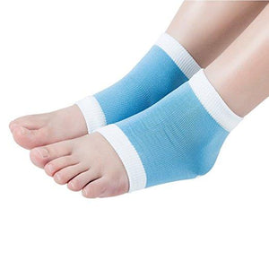 Deluxe Comfort Gel Spa Moisturizing Socks Dry Heel Foot Massage Sleeves - StabilityPro™