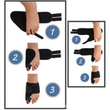 Bunion Corrector Splint Brace Post Surgery Big Toe Straightener & Separator - StabilityPro™