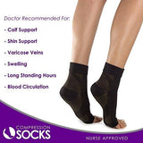 Plantar Fasciitis Copper Compression Heel & Arch Foot Support Sock Pain Relief Sleeve - StabilityPro™