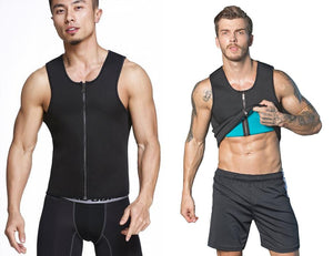 78ca0637e4 Sauna Vest Ab Trimmer Fat Burn Waist Trainer Compression Sauna Suit -  StabilityPro™