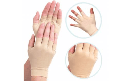 Compression Gloves Arthritis, Carpal Tunnel & Hand Edema Relief - Fingerless Sleeves - StabilityPro™
