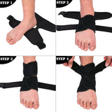 Ankle Support Brace with Adjustable Stabilizer Straps - StabilityPro™