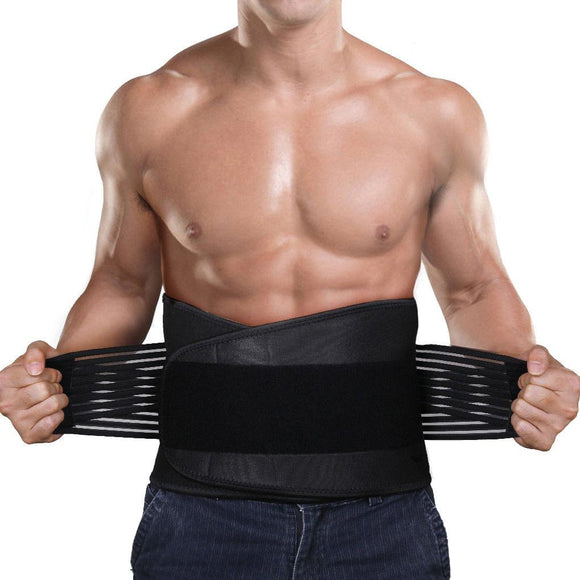Lower Back Support Brace & Lumbar Pain Relief