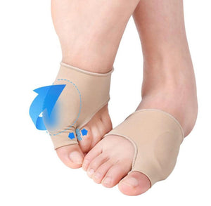 Bunion Gel Pad Pain Relief Corrector Sleeves Hammer Big Toe Straightener - StabilityPro™
