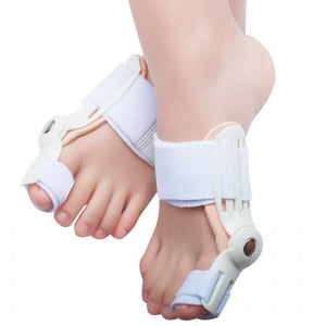 Bunion Corrector Splint Brace Adjustable Hinged Big Toe Straightener - StabilityPro™