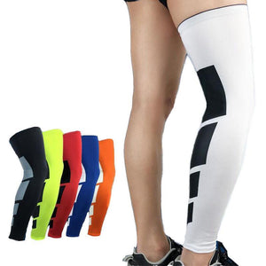 Thigh High Graduated Compression Leg Sleeve Hamstring Quad Calf & Knee Support - StabilityPro™