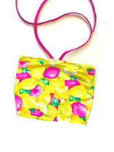 READY TO SHIP Pink Lemonade Crop/Swim