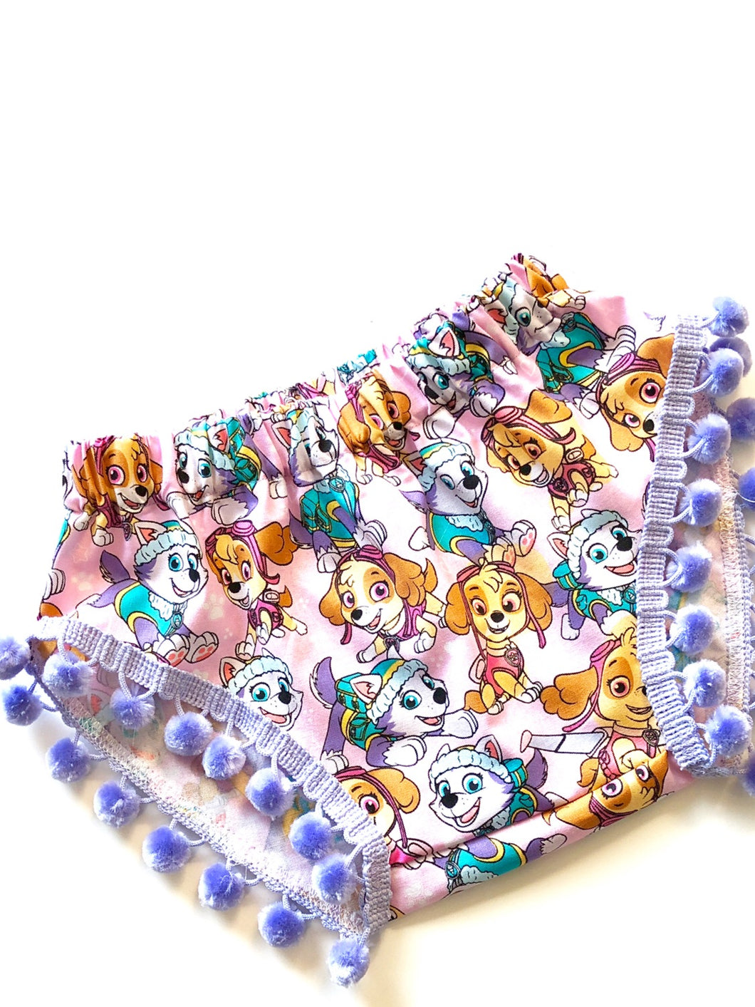 Paw Patrol Skye & Everest Pom Shorties