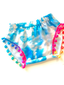 Over the Rainbow Pom Shorties