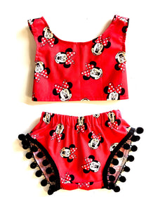 Minnie Mouse Pom Set