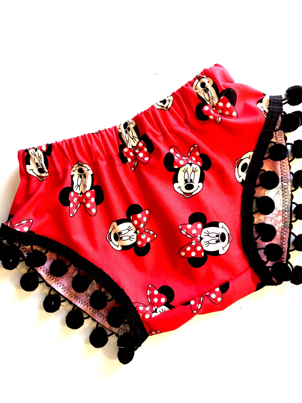 Minnie Mouse Pom Shorties