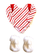READY TO SHIP Candy Cane Leotard