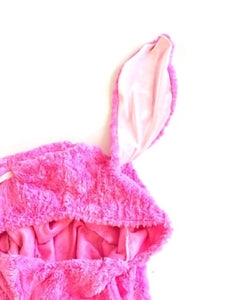 Fur Bunny Hooded Cape