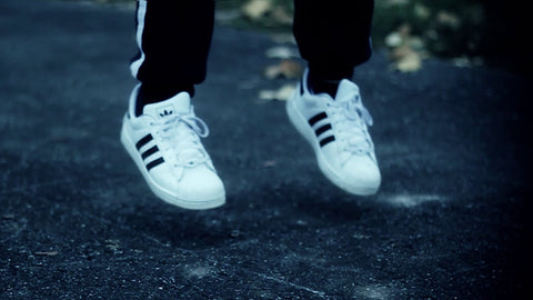 adidas advertising wall superstar