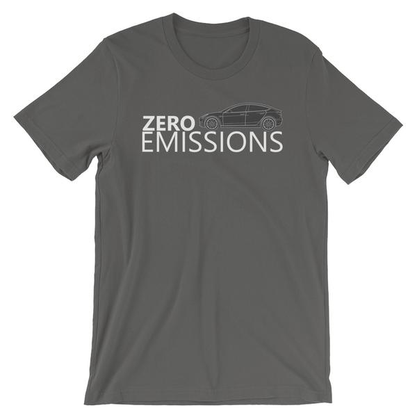Zero Emissions Model 3 Short-Sleeve Unisex T-Shirt