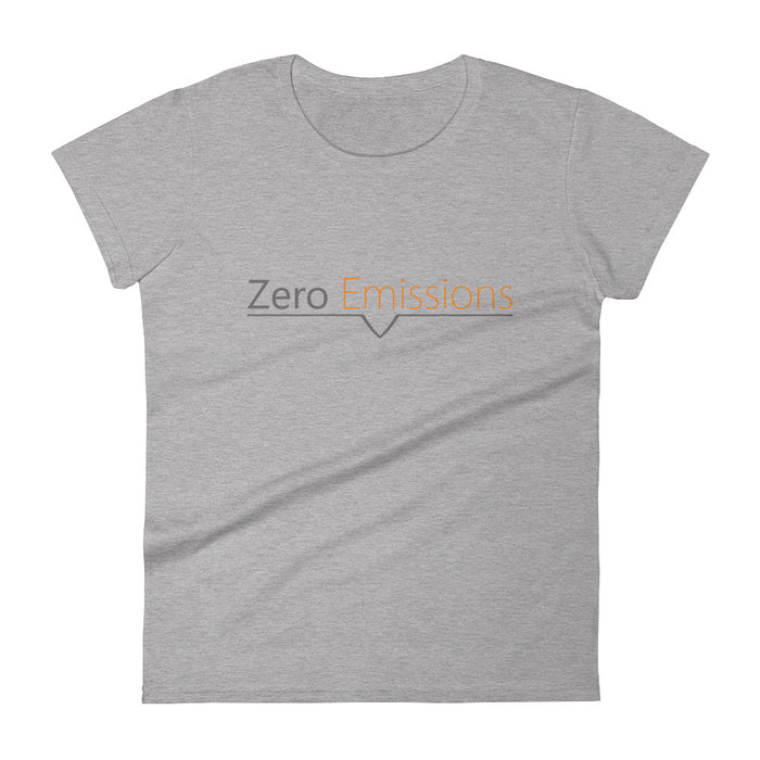 Zero Emissions Logo Women's short sleeve t-shirt