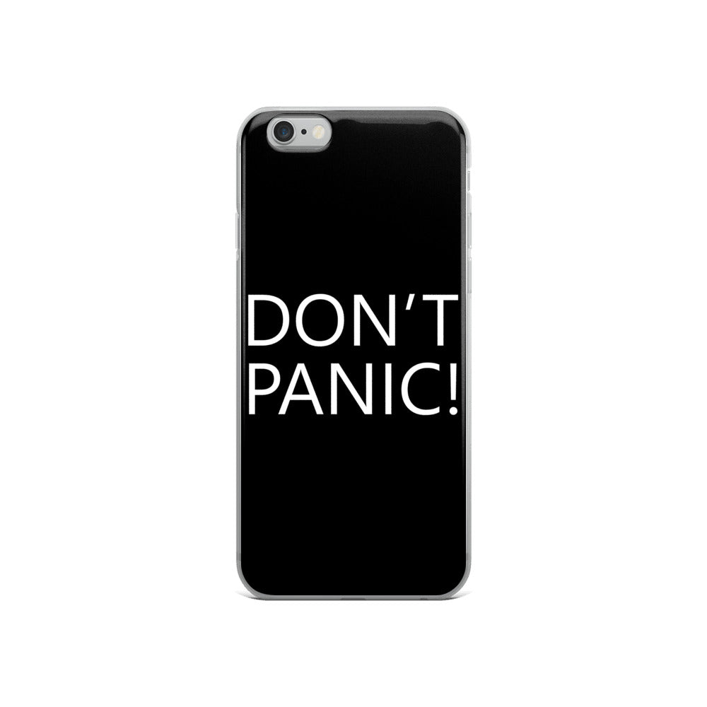 Don't Panic! iPhone Case