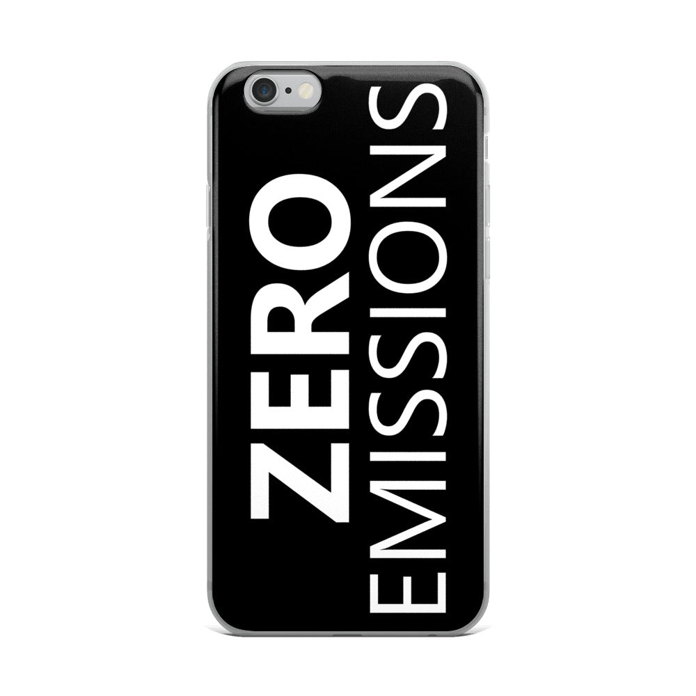 Zero Emissions iPhone Case