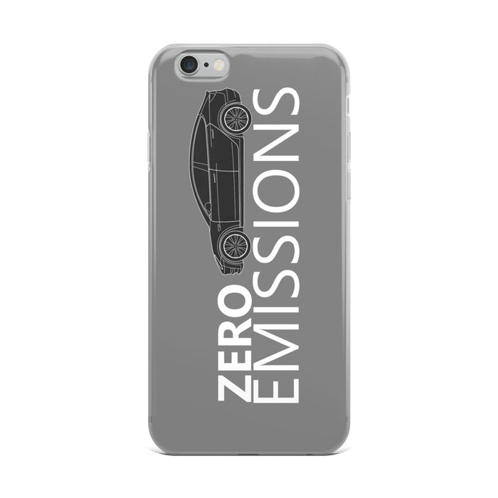 ZERO EMISSIONS MODEL 3 iPhone Case