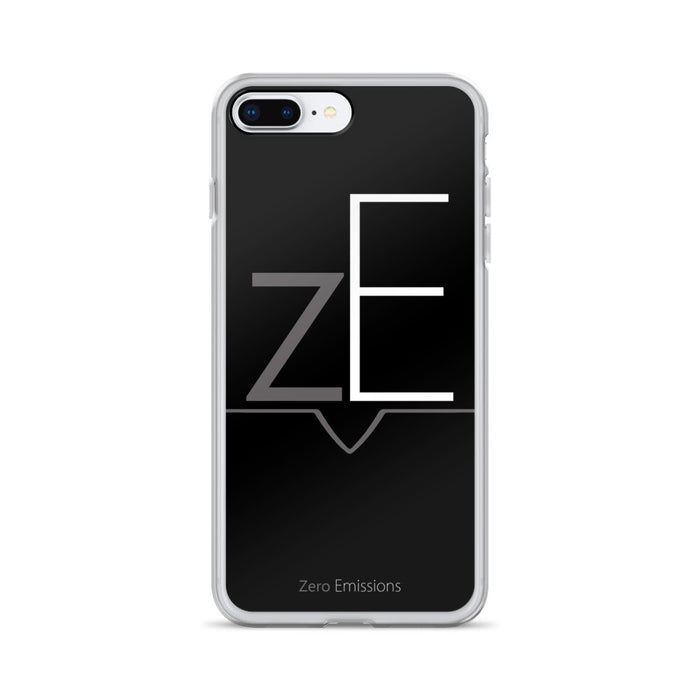 zE Black iPhone Case