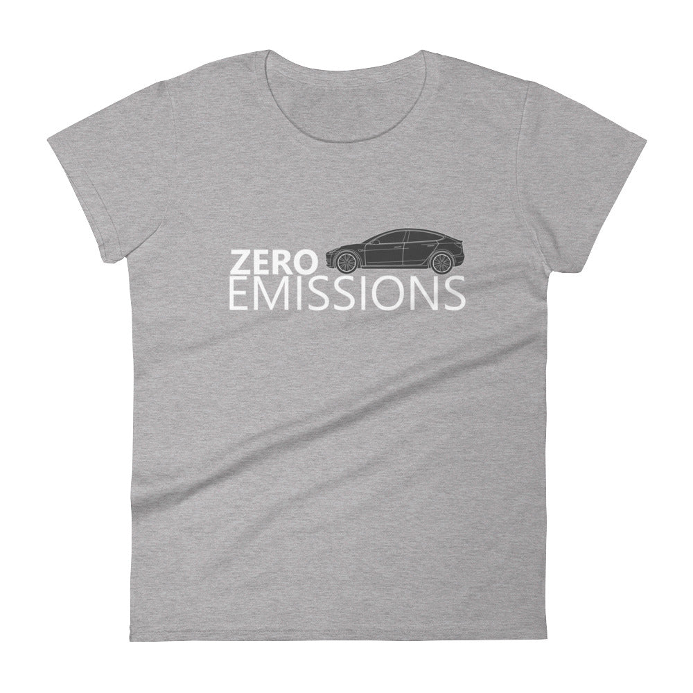 ZERO EMISSIONS MODEL 3 Women's short sleeve t-shirt