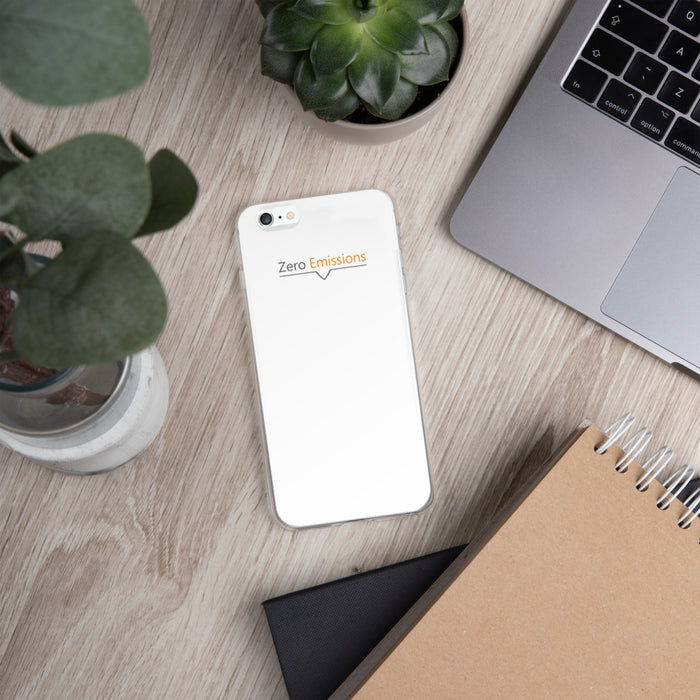 Zero Emissions Modern iPhone Case