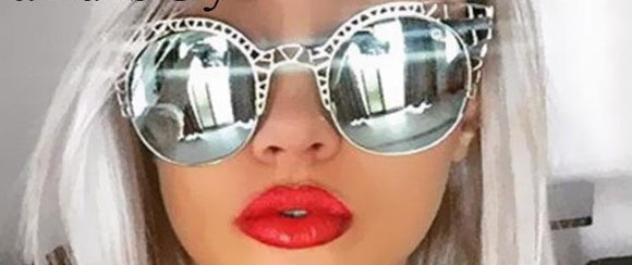 Mirrored Lace Cat Eye Sunglasses ***MORE OPTIONS***