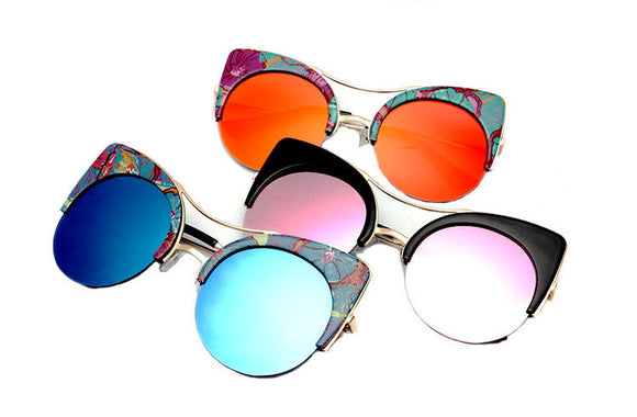 Retro Cat Eye Designer Sunglasses  ***MORE OPTIONS*** - Wild Child Shades
