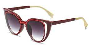 Cut-Out Cat Eye Sunglasses ***MORE COLORS***