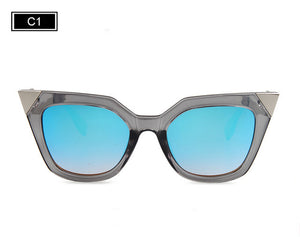 Lightning Side Cat Eye Retro Meets Modern Sunglasses ***7 COLOR OPTIONS***