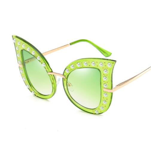 Bright Tear Drop Cat Eye Sunglasses ***MORE COLORS***