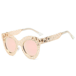 Intricate Metal Lace Sunglasses w/ Glasses Box ***MORE OPTIONS***