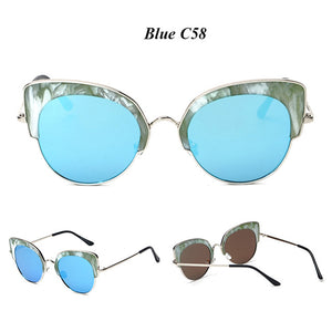 Vintage Alloy Wrap Cat Eye Sunglasses ***MORE OPTIONS***
