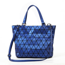 Glow in the Dark Light Reflecting Handbag Geometric Luminous Shoulder Bag Tote