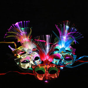 led hidden mask