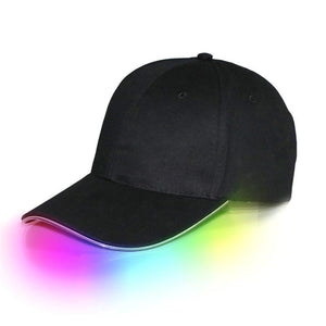 Neon trim baseball hat