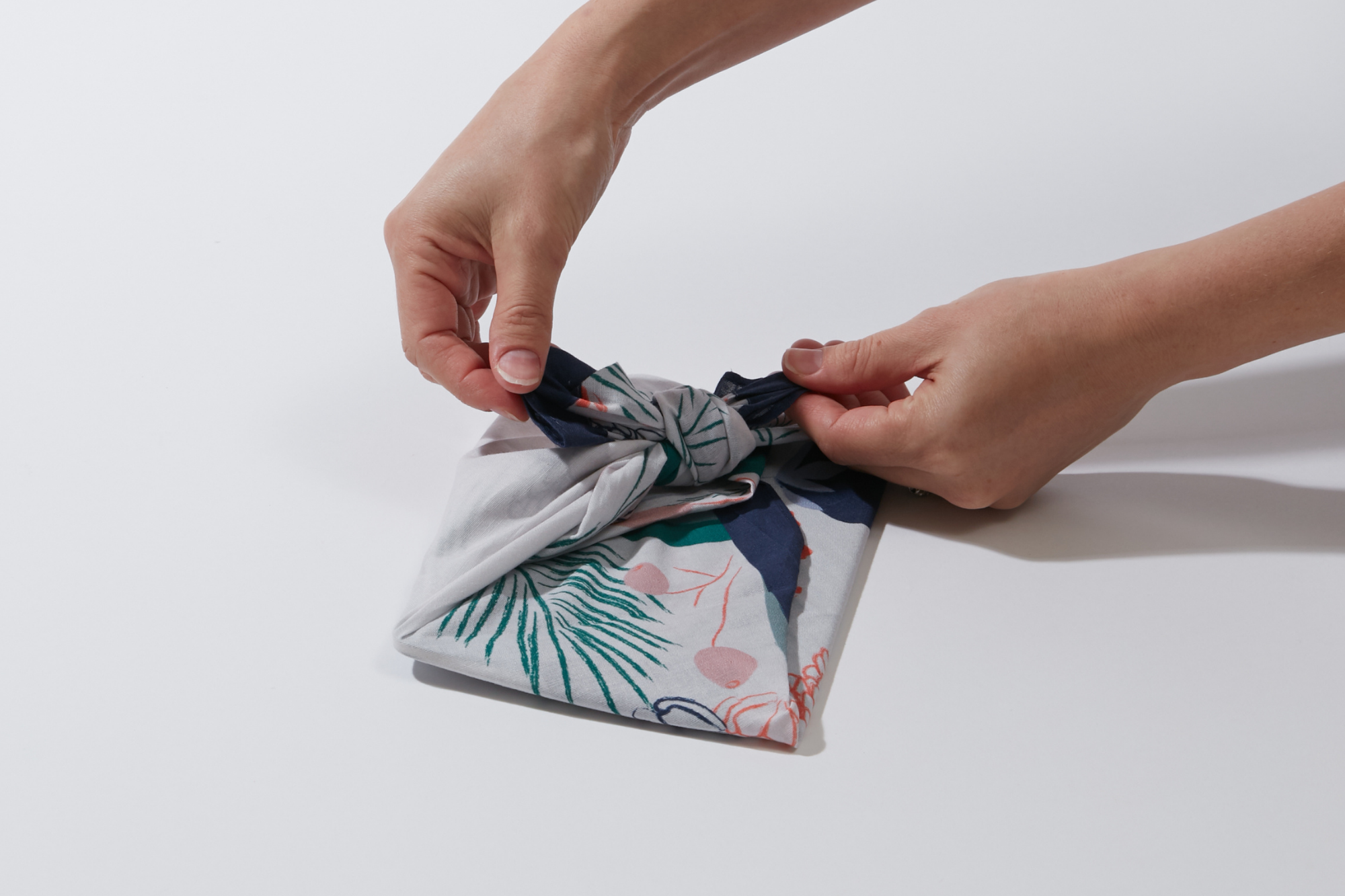 Wrappr How to Wrap a Book with Furoshiki Tutorial