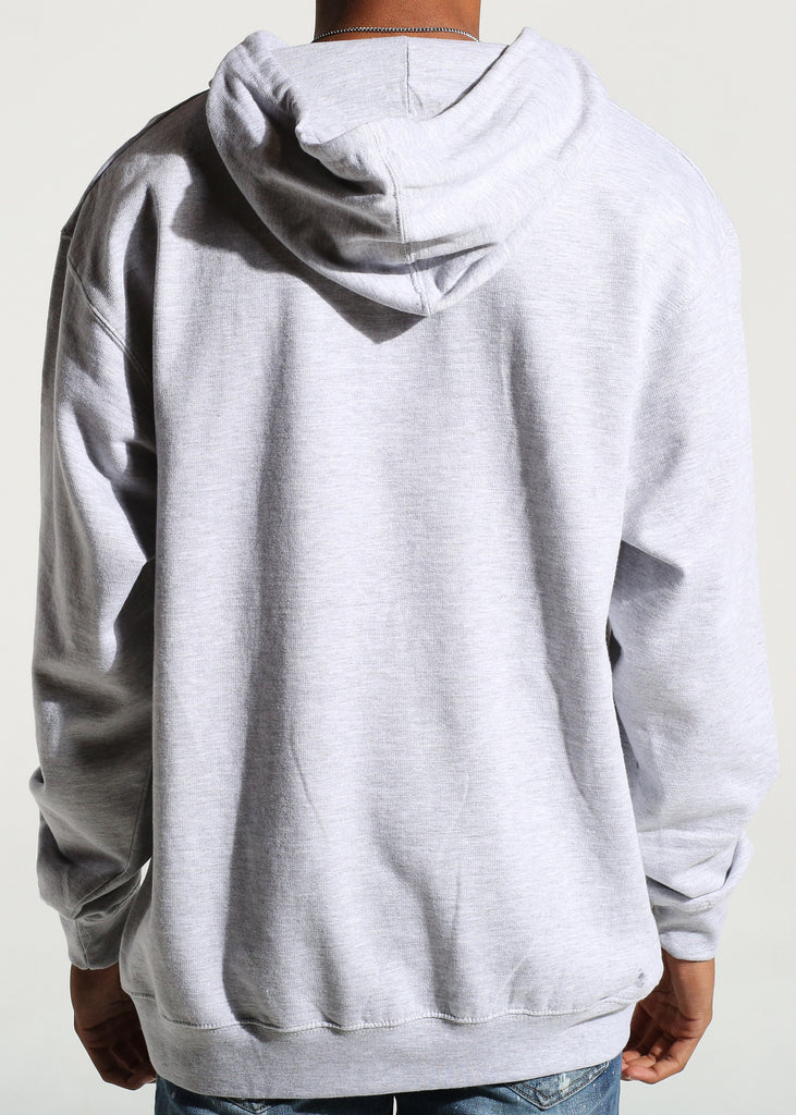 Album Pullover Hoodie (Heather Grey)
