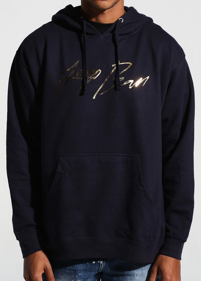 Signature Pullover Hoodie (Navy)