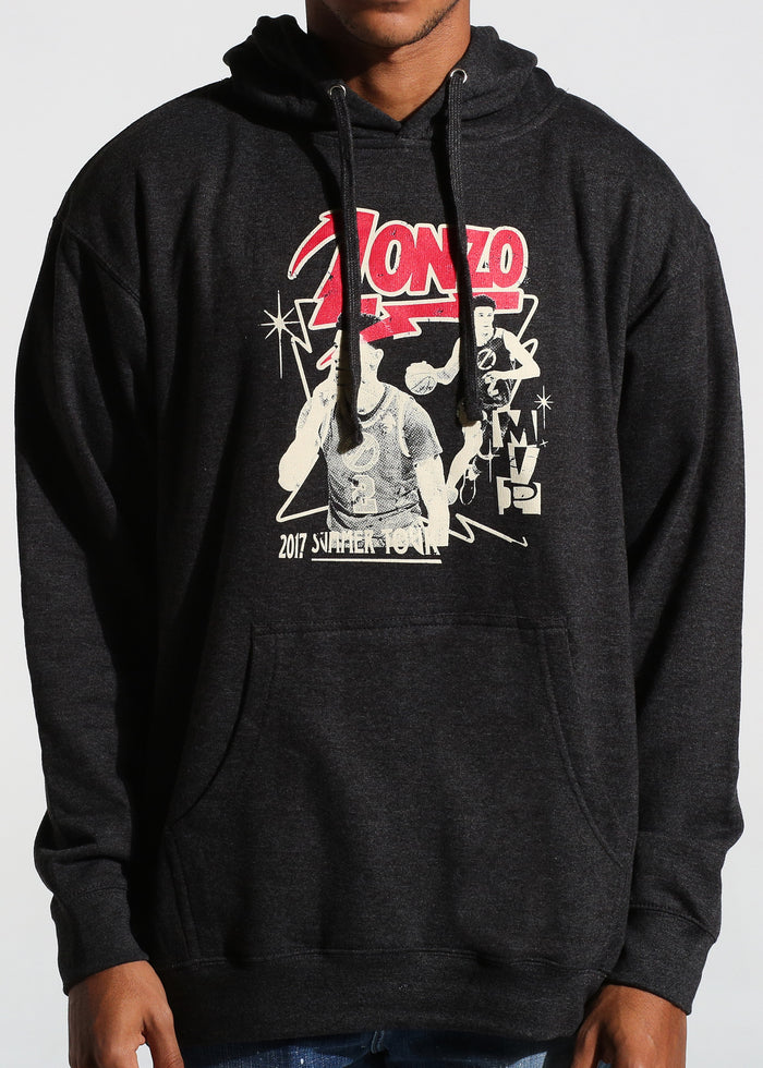 Tour Pullover Hoodie (Charcoal)