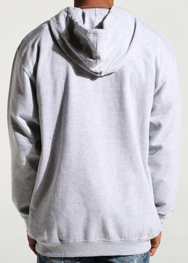 Cash Money Pullover Hoodie (Heather Grey)