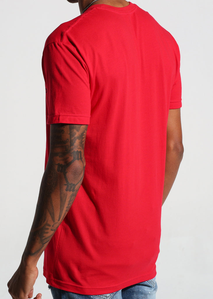 Luxe Logo S/S Tee (Red)