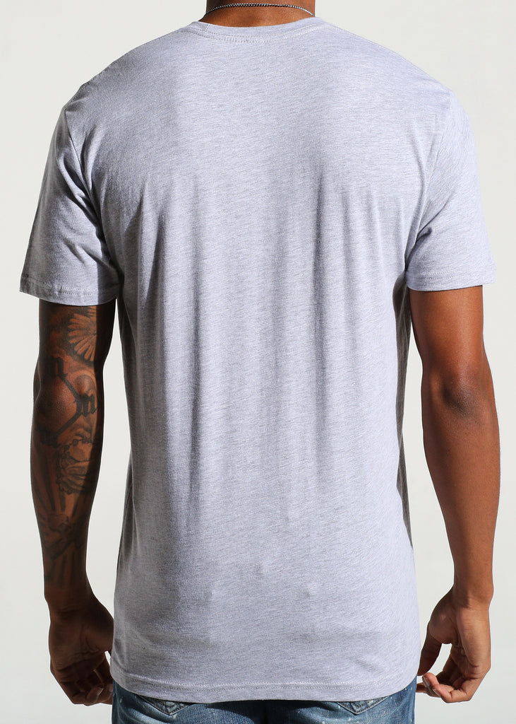 Emblem Logo S/S Tee (Heather Grey)