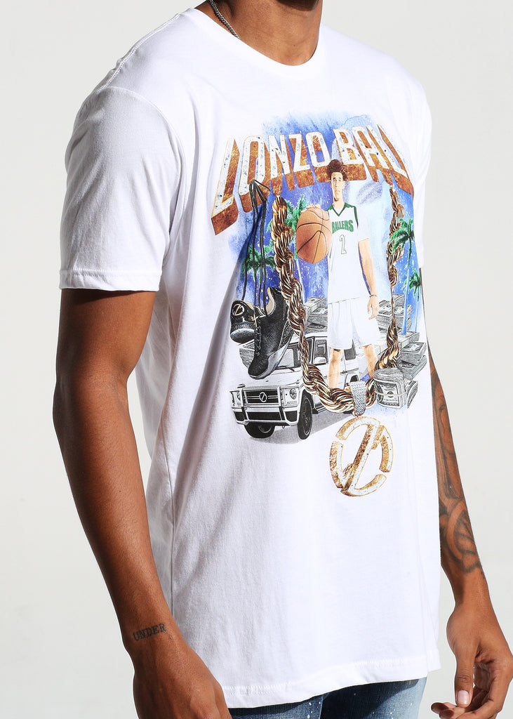 Cash Money S/S Tee (White)