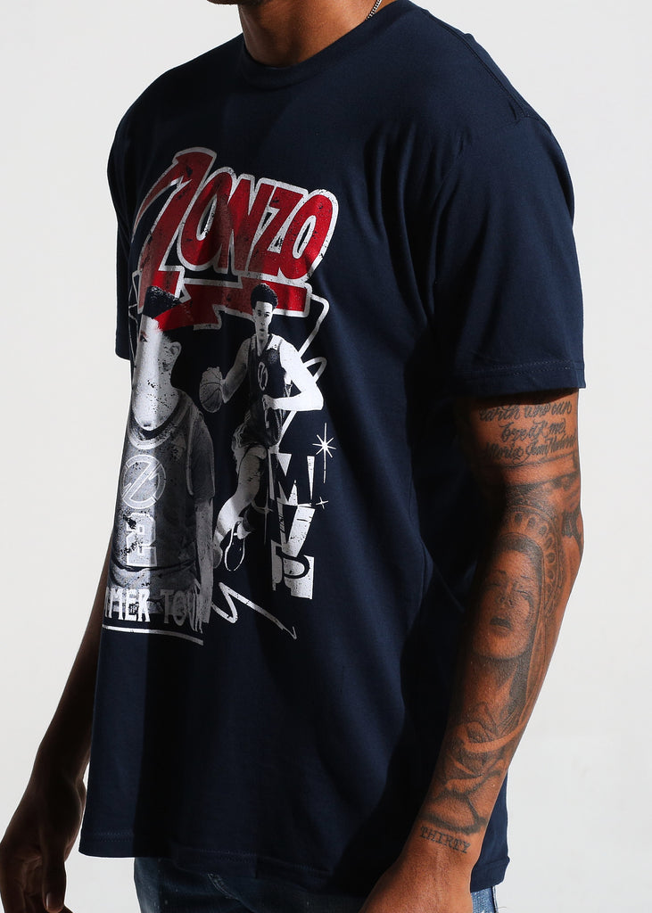 Tour Band S/S Tee (Navy)